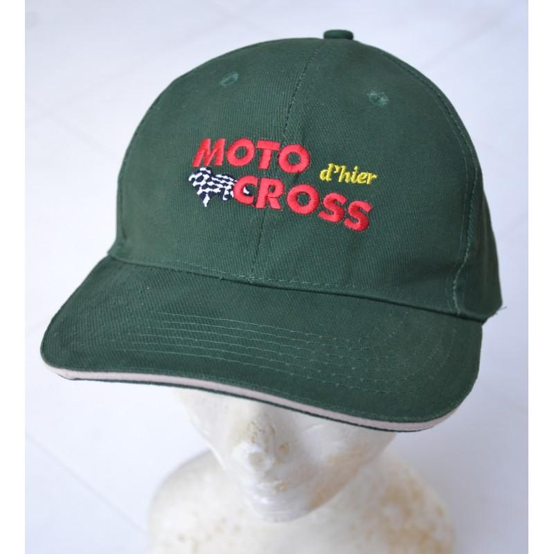 casquette Motocross d'hier